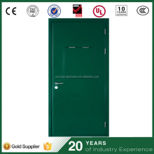 Warehouse venting interior entry steel door explosion release door