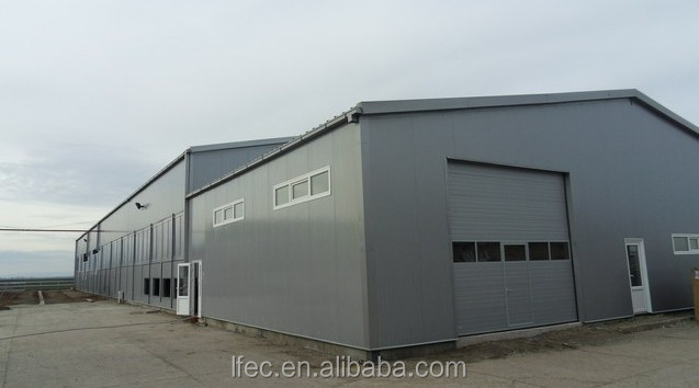 Economic Prefab Multifunctional Light Steel Roofing Truss for Warehouse