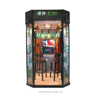 Chinese Mini Karaoke Booth Coin Operated Singing Electronic Machine With Songs