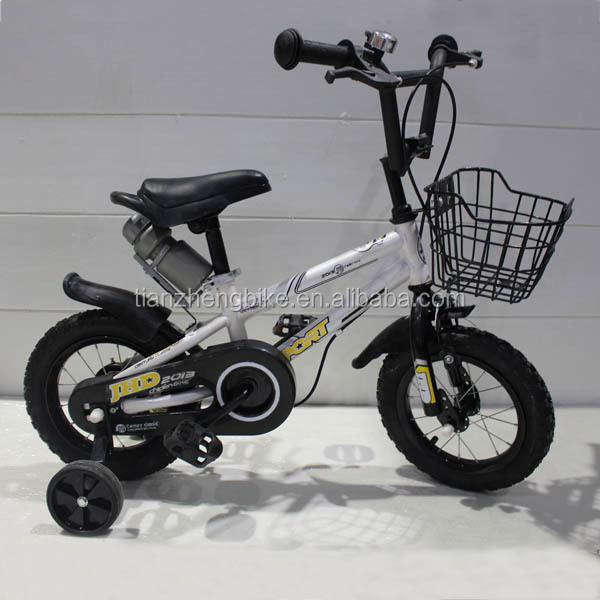 Hot selling online market training wheel steel frame bicycle for child