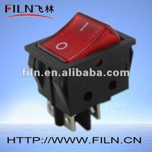12v illuminated dc rocker switches 125v 16a 250v