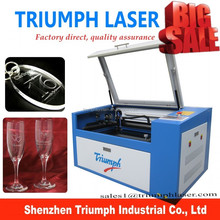 mini type 500*300mm laser machine rubber Mini Laser Engraving Machine for Glass