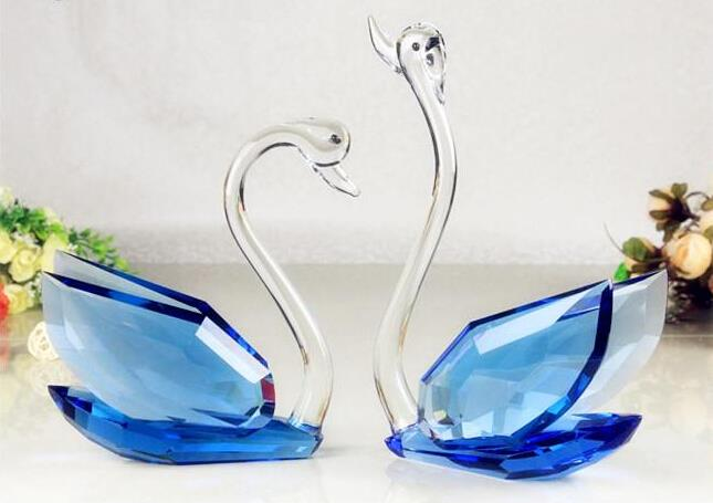 Crystal glass islamic do wedding gifts