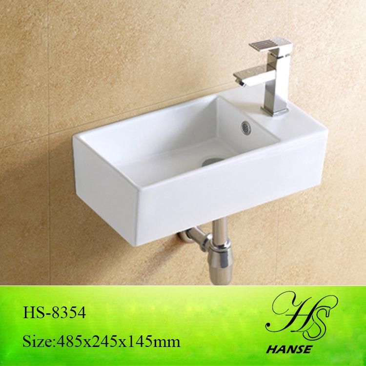 Hs 8354 Kleine Ecke Handwaschbecken/neuankömmling Bad Hand Waschbecken  Design/lange, Schmale
