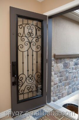 Wrought Iron Door Inserts, Wrought Iron Door Inserts Suppliers And  Manufacturers At Alibaba.com