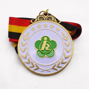 Custom made soft enamel sports sublimation medal no minimum order