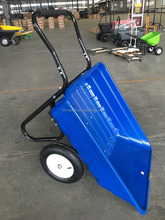 Free sample two wheel plastic tray construction wheelbarrow wholesale prices