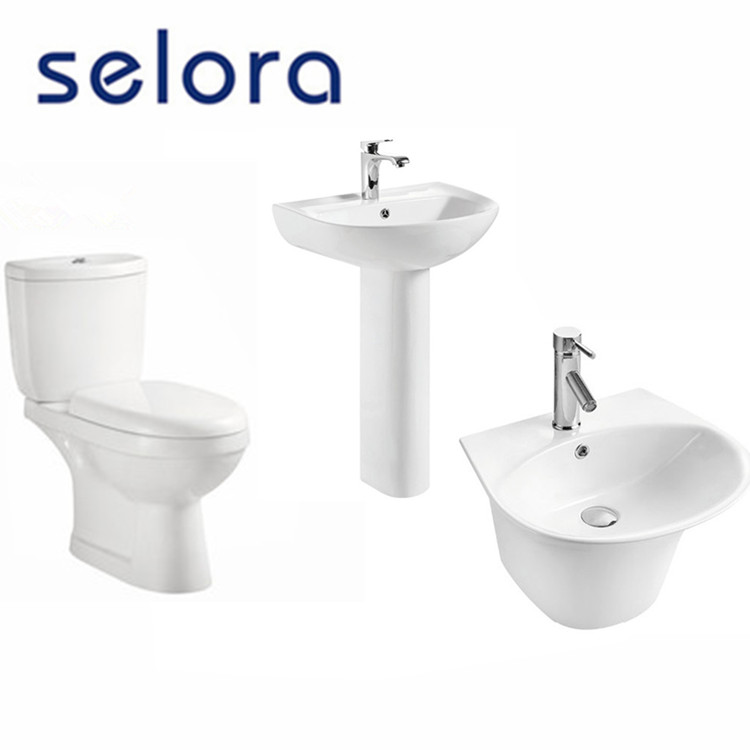 china supplier bathroom ceramic sanitary ware new design suite series set
