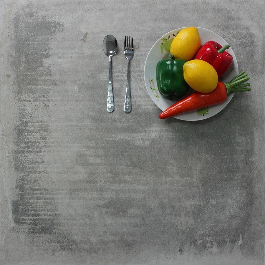 Italian Rough Surface Rustic 300x300 600x600 Dark Grey <strong>Non</strong> <strong>Slip</strong> <strong>Floor</strong> <strong>Porcelain</strong> <strong>Tiles</strong> For Living Room Office Restaurant