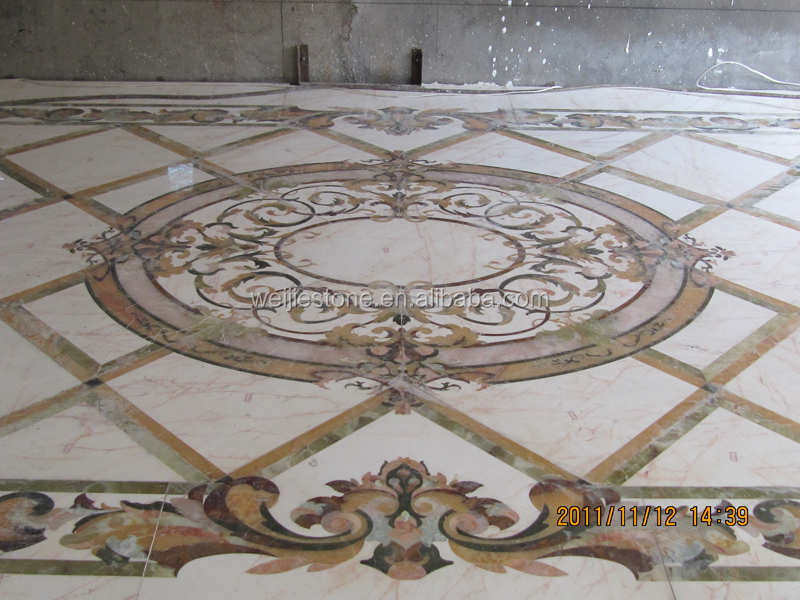 Marble Inlay Flooring Designs : Italian inlay marble flooring design buy