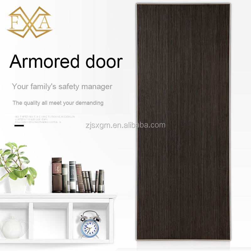 Reinforced Armored steel Door apartment door exterior doors for house entry (JH-057)