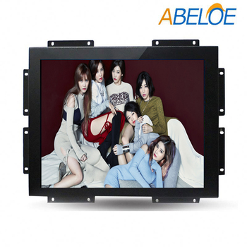 Water proof high brightness 12 inch frameless industrial touch screen monitor