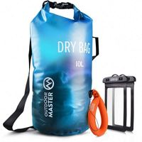 Hot Selling 5L 10L 20L 25L 30L 40L 50L Pvc Waterproof Dry Bag With Your Custom Logo For Swimming Drifting