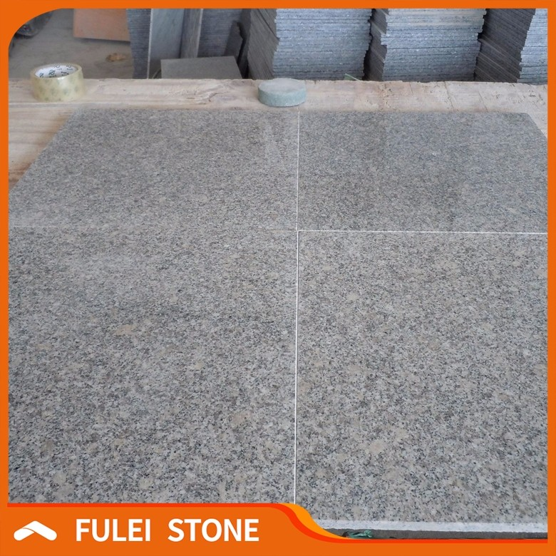 Polished Cheap Chinese Grey Granite Floor Tiles 18x18 For Living