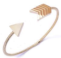 B0058 custom jewelry arabic style jewelry 14k gold arm cuff bracelet