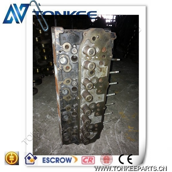 original used Mitsubishi S4KT with intercooling cylinder head for E120B hydraulic excavator engine parts