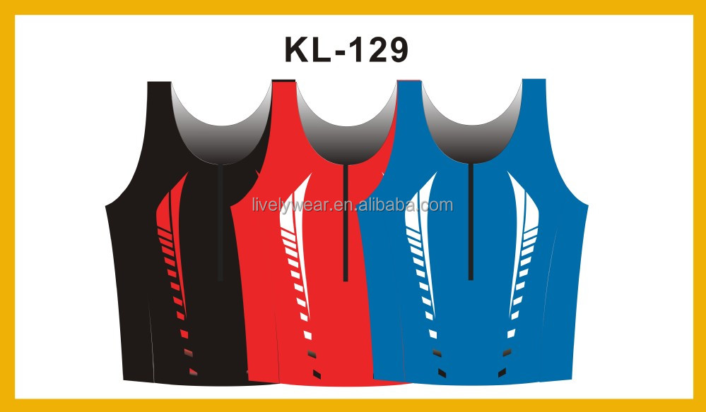 Livelywear-- OEM sublimation custom quick dry outdoor new design sport vest/ gym wear/ tank top