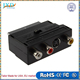 RGB Scart to 3 RCA S-Video Adapter Composite RCA SVHS S-Video AV TV Audio For Video DVD Recorder TV Television Projector