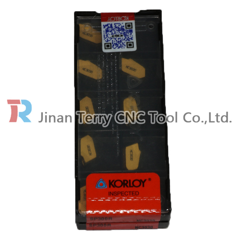 ORIGINAL KORLOY SP300 NC3030 CARBIDE INSERTS CNC TOOL