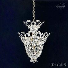 2013 new product austrian crystal chandeliers 3 light small K9 Empire crystal hotel chandelier lighting from china ETL80000D