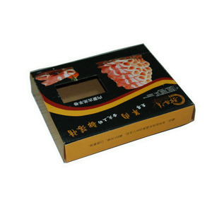 Eco-friendly cardboard corrugated paper meat packaging box