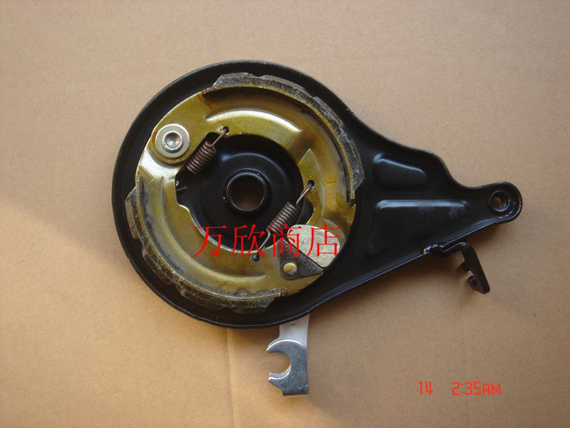 eaa5000160d7 110 electric vehicle integration hub motor brake up the body followed by a  big hole after brake brake drum brake assembly