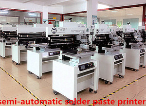 semi automatic print machine for led manufacturing