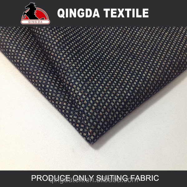 W1689 Fancy woven tweed fabric for garments ,men suit designs india