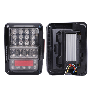 Best quality ! Led rear car light tail lamp reserve/brake/turn signal/ back light for jeep car