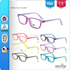 2015 colorful optical plastic frames OEM/ODM eyeglasses manufacturer CE/FDA