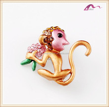 Wholesale Bulk Monkey Animal Brooch Manufacturers In China