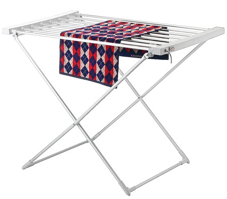 Electric clothes drying rack, heat foldway folding dryer rack