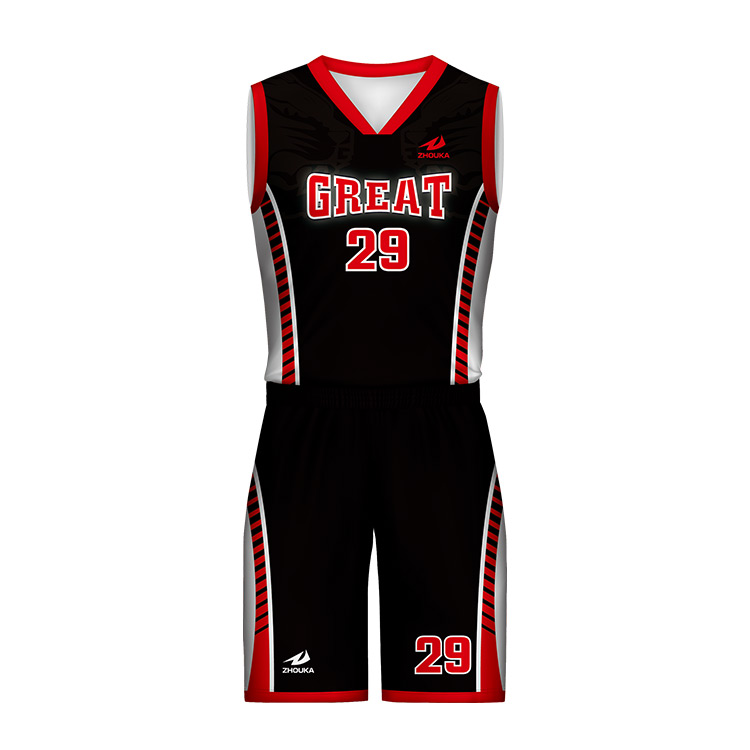 90af4f7997a Wholesale Custom Basketball Practice Jerseys Mesh Black And Red Basketball  Jerseys Uniforms For Team Club School
