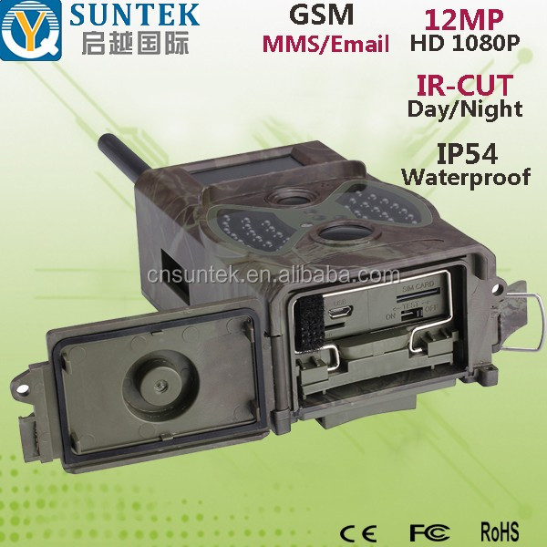 16MP 1080P Suntek Wildlife GPRS MMS Hunting Camera HC350M