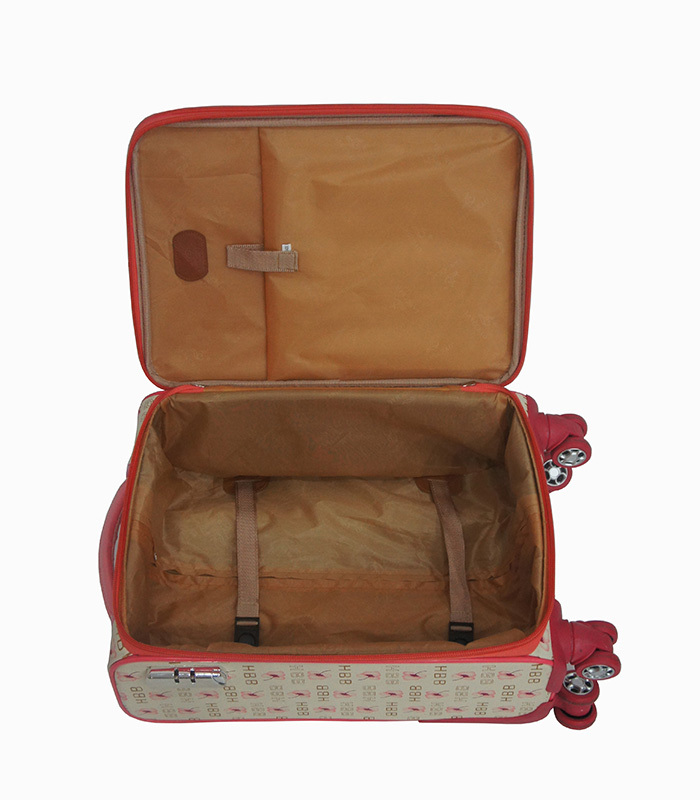 2014 Best Selling Factory Cheap Luggage Set Four Wheeled Trolley ...