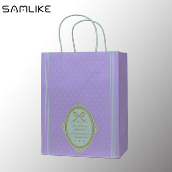 High Quality White Paper Bag Custom Small Brown Gift Bags View Samlike Product Details From Guangzhou Package
