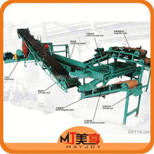 2015 New arrival scrap tire processing production line /tire threading machine(Wechat:008613816026154)