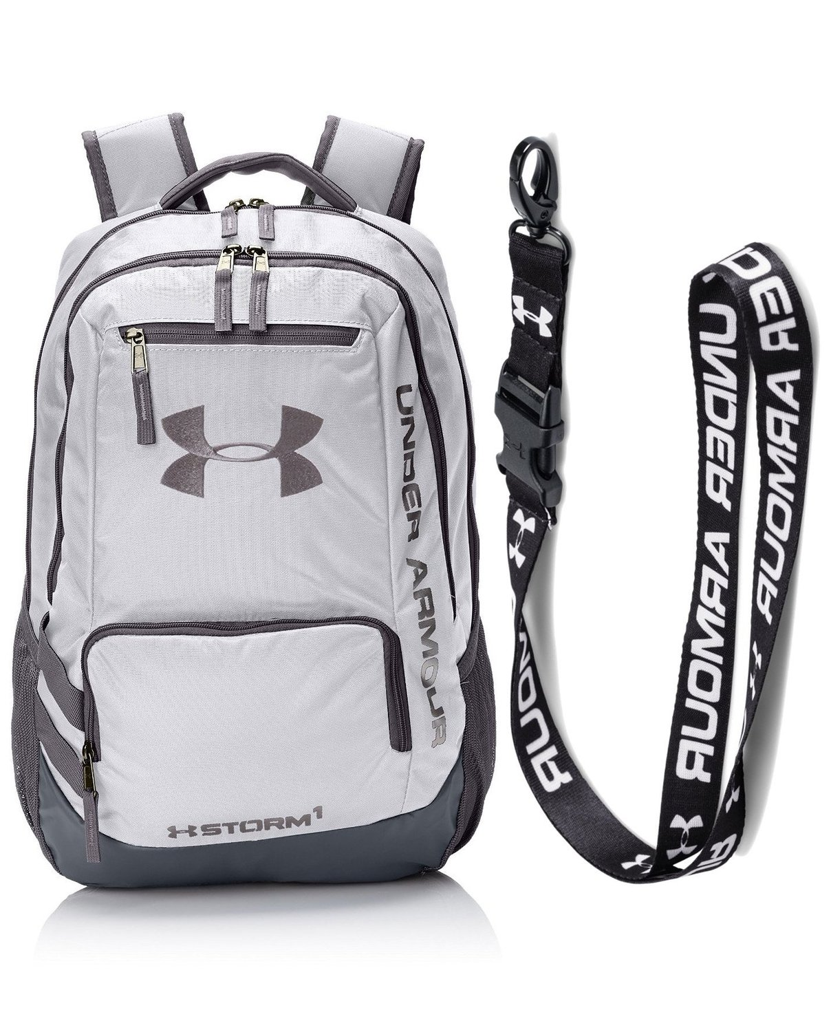 0e9d51d4b3df Get Quotations · Under Armour UA Hustle Backpack II with UA Undeniable  Lanyard