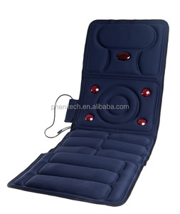 Top quality wholesale price electric massage bed mattress massage cushion with beating and rolling functions
