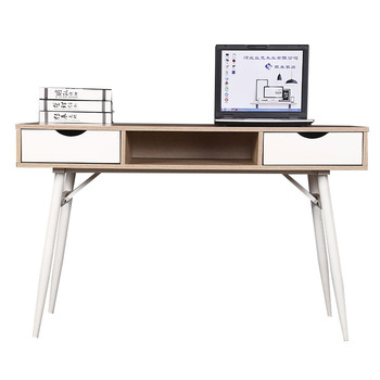 Bamboo Wooden Computer Desk Portable Foldable Laptop Table With Cup Holder Cooler Fan Drawer Desks Locking Drawers