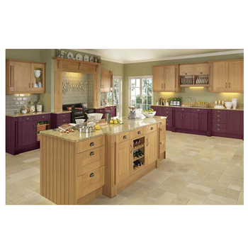 Usa Maple Wood Kitchen Cabinet In China Simple Designs