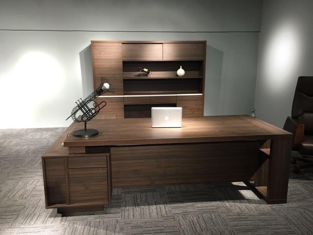 Kantoor teller tafel ontwerp executive bureau manager kantoor
