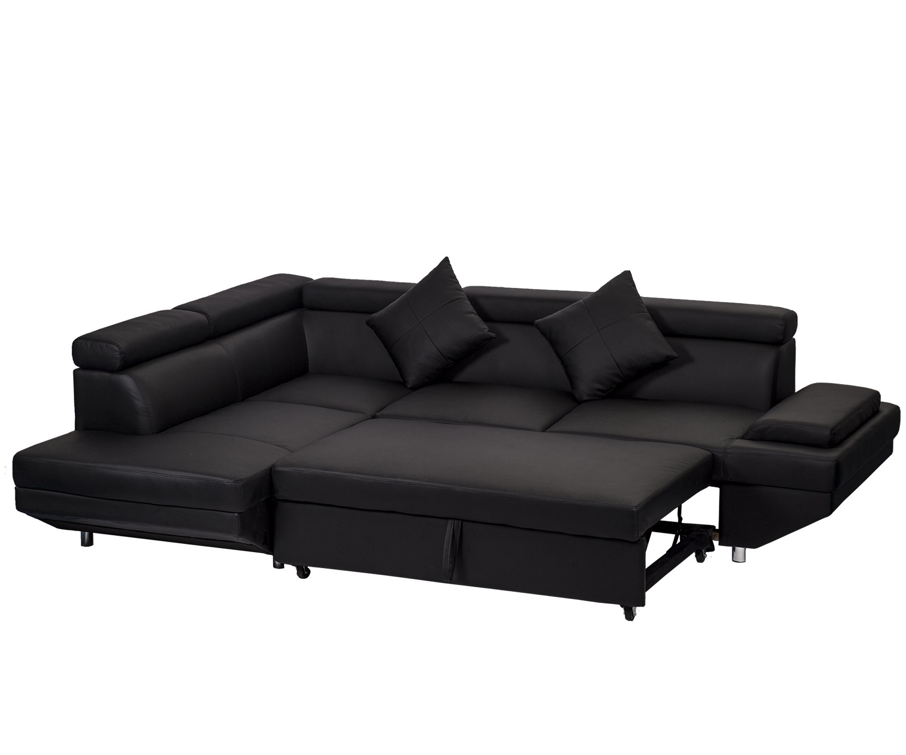 Corner Sofa Sectional Living Room Couch Bed Modern Futon Contemporary