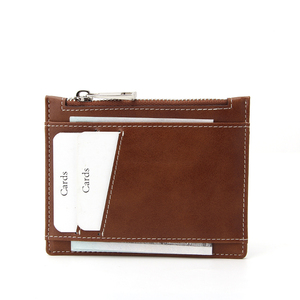 OEM Slim Wallet RFID Front Pocket Minimalist Secure Thin Zip Credit Card Holder
