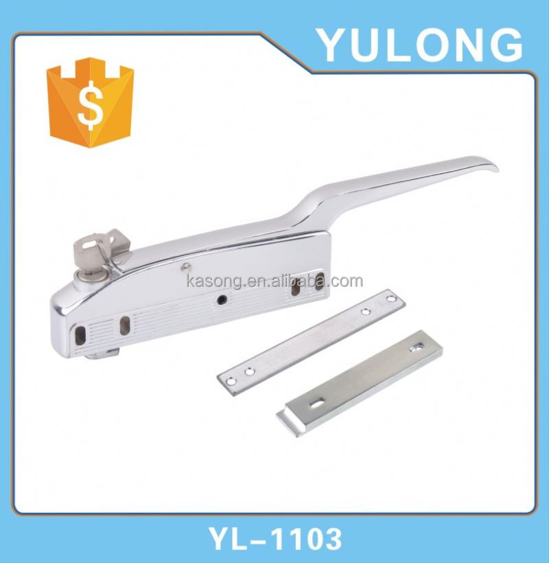 Cylinder Dogging Gread ONE Panic Exit Device ,Rim Latch locking door Panic Bars in China