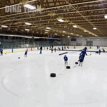 Good Abrasion Resistance Synthetic Ice Hockey Training