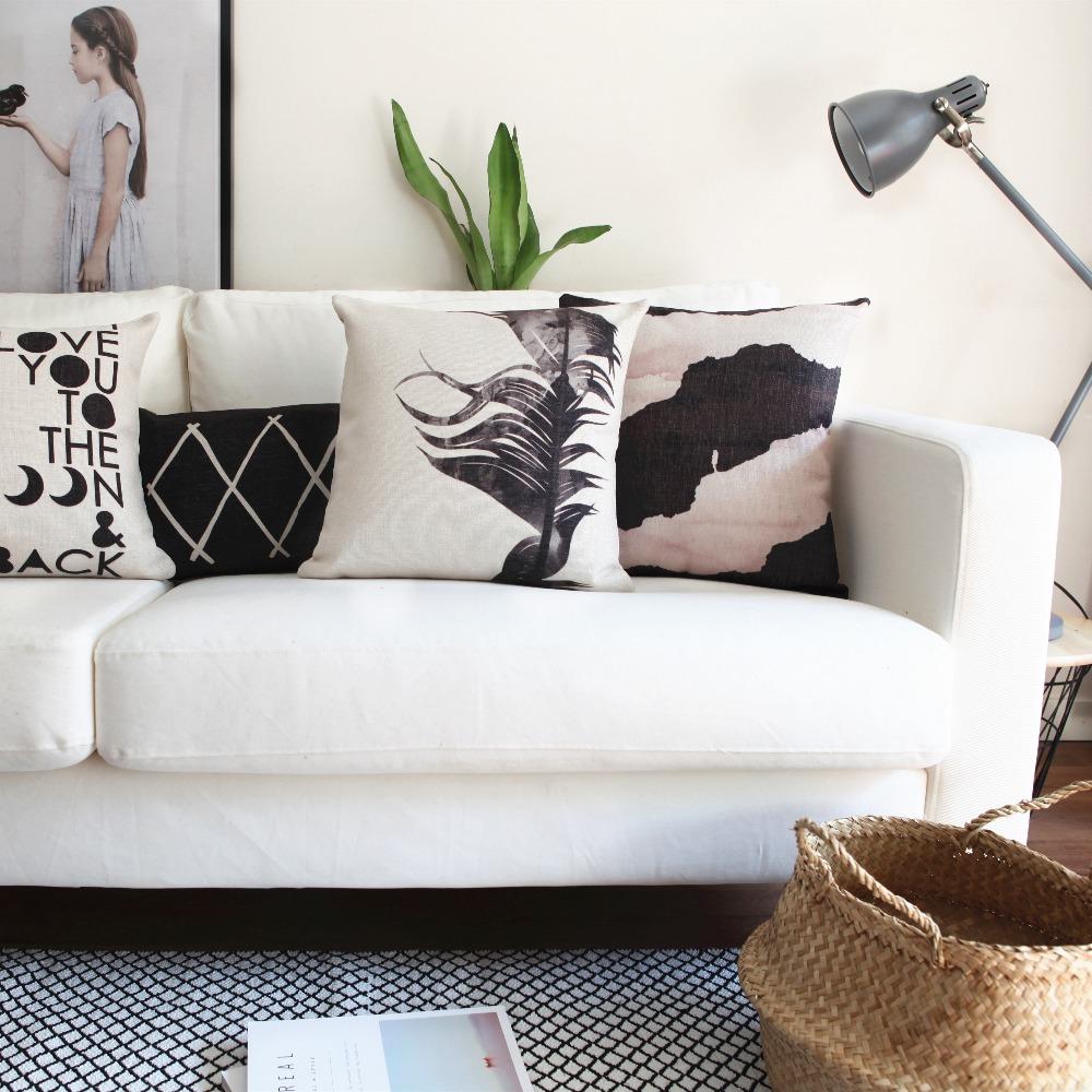 noir plume oreiller promotion achetez des noir plume oreiller promotionnels sur. Black Bedroom Furniture Sets. Home Design Ideas