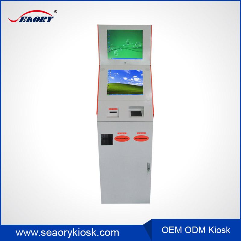 Airport Boarding Pass Ticket Printer Printing Kiosk Vending Machine