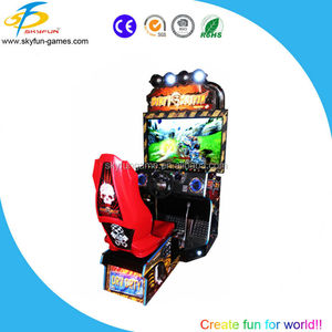 2017 hot sale skyfun 42 inch dirty driving car racing game machine in direct factory price
