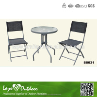 Over 15 years experience deck conversational furniture bistro table set outdoor